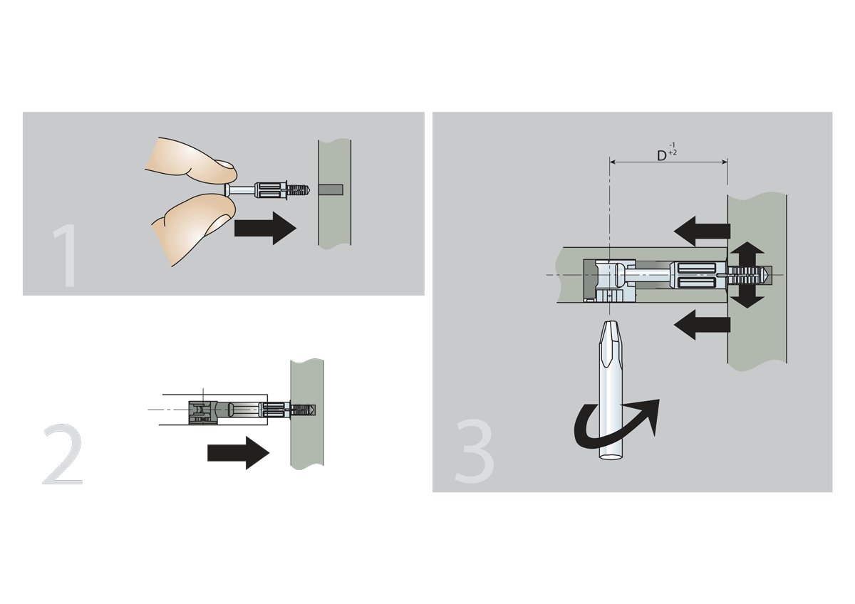 Self expanding bolt assembly instructions