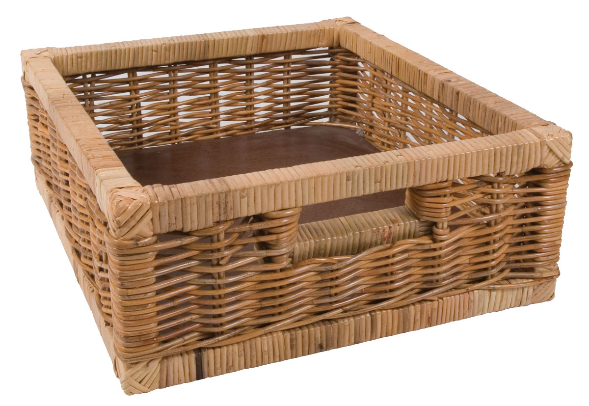 Kitchen Accessories Cane Veg Baskets